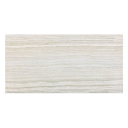"Rondine - Eramosa - 12""x24"" Vein Cut Porcelain Tile by Rondine, White - Sold per Piece - there are 2 square feet per piece"