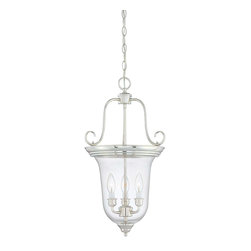 Savoy House - Savoy House 3-8521-3-109 Bell Foyer Lantern - For use in a variety of spaces.
