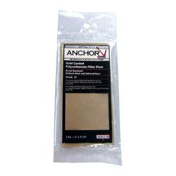 gold coated polycarbonate filter plate model number 10 color gold