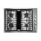 "Jenn-Air 30"" Gas Downdraft Cooktop, Stainless Steel 