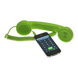 POP! Handset - If you're a hardcore landline person like me, this product might help you ditch that extra expense and still let you cradle a clunky receiver on your shoulder.