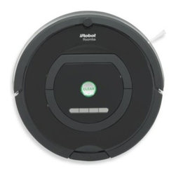 Irobot - iRobot Roomba 770 Vacuum Robot - Automatically removes dirt, dust, and pet hair at the touch of a button. iAdapt Responsive Cleaning Technology meticulously vacuums the entire floor, including hard-to-reach spots under furniture.