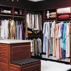 Traditional Closet by California Closets