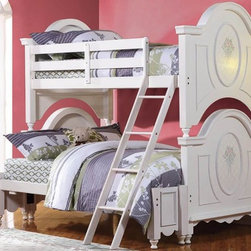 Kids Bedroom Inspiration - This Jason Twin over Full Bunk Bed with Storage Drawers will give a distinct and vibrant look to your child's bedroom.