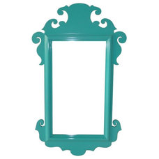 Eclectic Mirrors by Candelabra