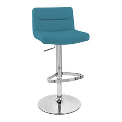 Teal blue pillow bar stools counter stools shop for barstools and kitchen stools online - Teal blue bar stools ...