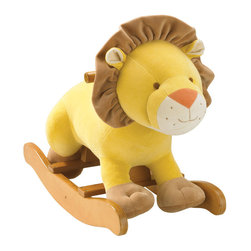 Lion Rocker - The classic rocker gets a fun remake from Giggle with this plush lion. The soft coat, smiling face and ruffled mane are ready to rock — literally!