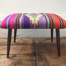 Eclectic Upholstered Benches by Barrington Blue