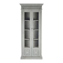 Cabinet - A modern take on grandma's china closet, this charming curio ...