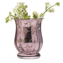 Très Jolie Vase - This mercury glass vase offers endless decorating possibilities in your home. Perfect to display your favorite summer bouquets, it can also be filled with pebbles or marbles if you lack a green thumb.