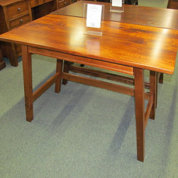Abbey Laptop Desk - Brown Maple with Michael's Cherry stain