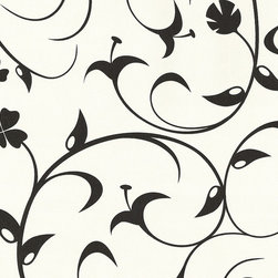 AS Creation - 623614 Black and White Wallpaper, Double Roll - Wallpaper accent wall is a new trend and we at Designers Wallpaper have a solution - modern and stylish non-woven wallpaper from leading European designers for any taste and styles to choose from