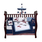 Aviator 9-Piece Crib Bedding Set by Sweet Jojo Designs