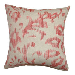Pillow Collection - The Pillow Collection Ignace Ikat Pillow - Red Multicolor - P18-42250-RED-C100 - Shop for Pillows from Hayneedle.com! The classic design of The Pillow Collection Ignace Ikat Pillow - Red is hotter than ever and ready to make its debut in your home. Made of 100% cotton this gorgeous square pillow features a plush 95/5 feather/down insert for the ultimate in softness. The beautiful wash of red throughout the elegant Ikat design makes this the perfect accent to any room.About The Pillow CollectionIdentical twin brothers Adam and Kyle started The Pillow Collection with a simple objective. They wanted to create an extensive selection of beautiful and affordable throw pillows. Their father is a renowned interior designer and they developed a deep appreciation of style from him. They hand select all fabrics to find the perfect cottons linens damasks and silks in a variety of colors patterns and designs. Standard features include hidden full-length zippers and luxurious high polyester fiber or down blended inserts. At The Pillow Collection they know that a throw pillow makes a room.