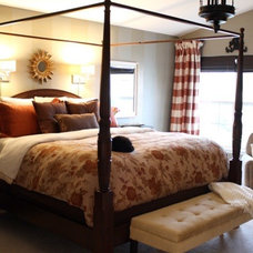 by Camille Moore Window Treatments & Custom Bedding