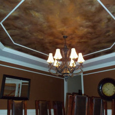 Traditional Dining Room by Bogue Art Studios  Decorative & Custom Painting