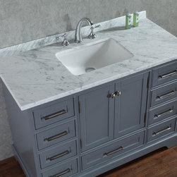 "NEW 48"" South Bay Bathroom Vanity - Grey -"