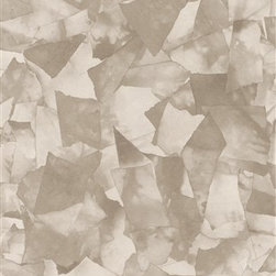 Walls Republic - Torn Grey Wallpaper R2496 - Torn is a basic ripped paper Mache wallpaper. This tone on tone pattern is great for any kids room.