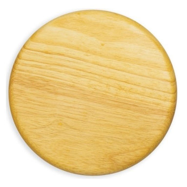 "Picnic time - Circular Cheese Board 7"" Rubber wood - 38.5 square inches of cutting surface."