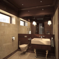 contemporary bathroom by Annis Lender