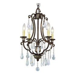 Trans Globe Lighting - Trans Globe Lighting 3964 Chandelier In Antique Bronze - Part Number: 3964