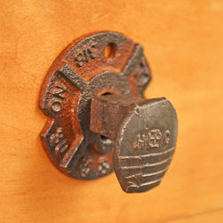 Railroad Hardware-Hook or Knob - Railroadware Distinctive Railroad inspired hardware