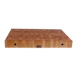 John Boos - Rectangular Chopping Board in Maple Finish (3 - Choose Size: 30 in.Non-reversible cutting board. Maple finish