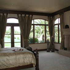 Mediterranean Window Treatments by Installations Etc.