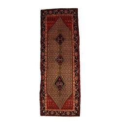 eSaleRugs - 3' 10 x 9' 6 Koliaei Persian Runner Rug - SKU: 110886800 - Hand Knotted Koliaei rug. Made of 100% Wool. 30-35 Years.