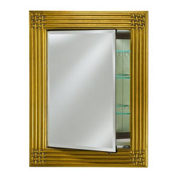 Afina - Afina Vanderbilt Single Door Surface Mount Decor Medicine Cabinet - 28W x 34H in - Shop for Bathroom Cabinets from Hayneedle.com! Your bathroom doesn't need to be so boring - bring some life to your lavatory with an Afina Vanderbilt Single Door Surface Mount Decor Medicine Cabinet - 28W x 34H in.. The tri-mirrored design of this elegantly crafted cabinet offers a dazzling option for storing all of your bathroom needs. About AfinaAfina Corporation is a manufacturer and importer of fine bath cabinetry lighting fixtures and decorative wall mirrors. Afina products are available in an extensive palette of colors and decorative styles to reflect the trends of a new millennium. Based in Paterson N.J. Afina is committed to providing fine products that will be an integral part of your unique bath environment.