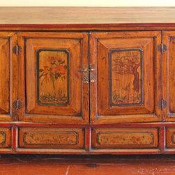 Antique Asian Buffet Cabinet - Antique Asian Buffet Cabinet
