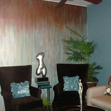 Eclectic  by Pamela's Painting - Faux Finishes, Murals, & More