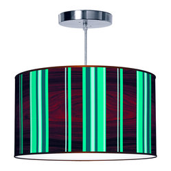 Vertical Stripey 1 Pendant Lamp