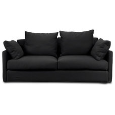 Contemporary Sofas Highbury Black Couch