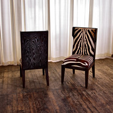 contemporary dining chairs by The New Traditionalists