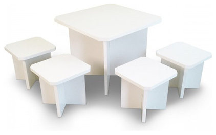 Contemporary Kids Tables by Way Basics