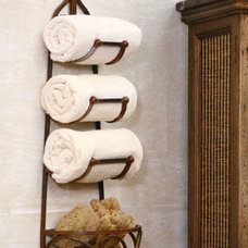 Transitional Towel Racks & Stands by Origin Crafts