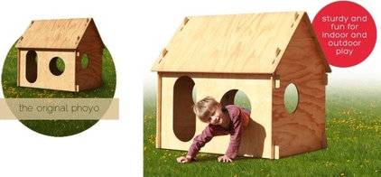 Modern Outdoor Playhouses by PHOYO