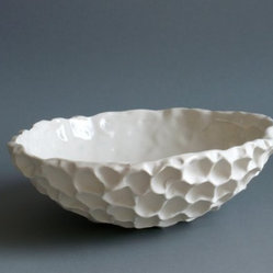 Small Coral Bowl by elementclaystudio