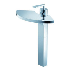 Kraus KEF-14800CH Fantasia Single Lever Vessel Faucet - One must fantasize to have a vision. At Kraus our vision is to design beyond the boundaries in a pursuit of perfection