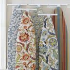 PB Ironing Board Covers - Brighten up laundry day with paisley printed cotton ironing board covers.