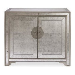 Shantou Mirror Door Chest - Finish: Available only as shown