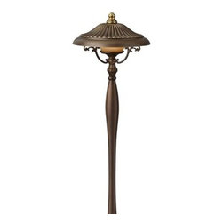"""Hinkley Lighting 1567RY Maribella Pathway Light, Royal Bronze - Get 10% discount on your first order. Coupon code: """"houzz"""". Order today."""