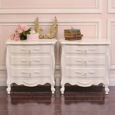 Mediterranean Nightstands And Bedside Tables by The Bella Cottage
