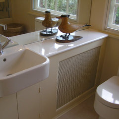 modern bathroom by Celia James