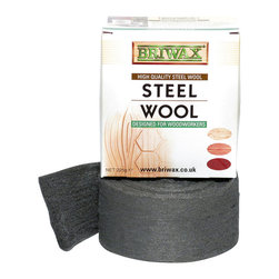 Briwax Steel Wool Grade 0000 Oil Free 225g 1/2lb Roll - Cut off just the quantity you need to work with