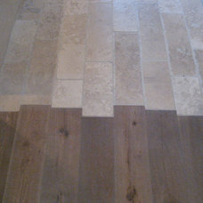 traditional wood flooring by Mark Hickman Homes