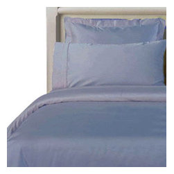 "Bed Linens - Twin XL Egyptian cotton Solid 3Pieces Alternative Comforter set, Twin XL, Blue - Twin Extra Long (Twin XL) 3Pieces Comforter Set made from 100% Egyptian cotton with 300 Thread count per square inch. The 3Pieces set includes: 2PC Duvet cover set, duvet cover 66x90"" with button closure and 1 sham 20x26"" Plus One Down Alternative White Comforter to be inserted into the duvet cover."