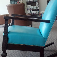 Traditional Rocking Chairs by Schultz Upholstery