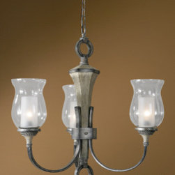 "21238 Gilman, 3 Lt Chandelier by uttermost - Get 10% discount on your first order. Coupon code: ""houzz"". Order today."